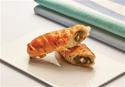 Rolled Pastry With Spinach