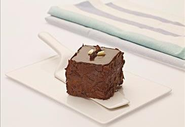 Mono Cake With Pieces Of Chocolate